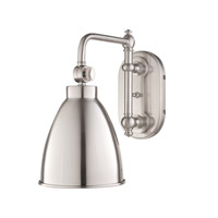 Hudson Valley Lighting Somerset 1 Light Wall Sconce in Satin Nickel 1429-SN