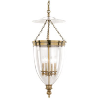 Hanover 4 Light 16 inch Aged Brass Pendant Ceiling Light