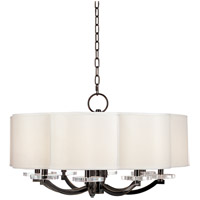 Hudson Valley Lighting Garrison 8 Light Chandelier in Old Bronze 1432-OB