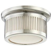 Hudson Valley 1440-PN Bangor LED 6 inch Polished Nickel Flush Mount Ceiling Light