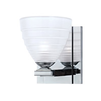 Hudson Valley Lighting Slaton 1 Light Bath Vanity in Polished Chrome 1441-PC
