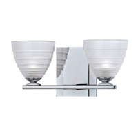 Hudson Valley Lighting Slaton 2 Light Bath Vanity in Polished Chrome 1442-PC