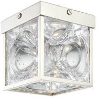 Hudson Valley 1450-PN Calvin LED 5 inch Polished Nickel Flush Mount Ceiling Light