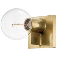 Hudson Valley 1451-AGB Bodine 1 Light Aged Brass Wall Sconce Wall Light