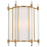 Hudson Valley 1502-AGB Delancey 2 Light 11 inch Aged Brass Wall Sconce Wall Light