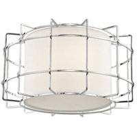 Hudson Valley 1514-PN Sovereign LED 16 inch Polished Nickel Flush Mount Ceiling Light