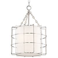 Hudson Valley 1516-PN Sovereign LED 16 inch Polished Nickel Pendant Ceiling Light
