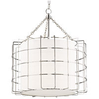 Hudson Valley 1524-PN Sovereign LED 24 inch Polished Nickel Pendant Ceiling Light