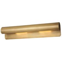 Accord 2 Light 6 inch Aged Brass ADA Wall Sconce Wall Light