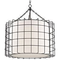 Hudson Valley 1531-OB Sovereign LED 31 inch Old Bronze Pendant Ceiling Light