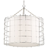 Hudson Valley 1531-PN Sovereign LED 31 inch Polished Nickel Pendant Ceiling Light
