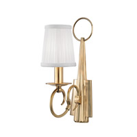 Caldwell 1 Light 4 inch Aged Brass Wall Sconce Wall Light