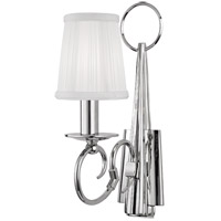 Caldwell 1 Light 4 inch Polished Nickel Wall Sconce Wall Light
