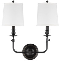 Hudson Valley 172-OB Logan 2 Light 16 inch Old Bronze Wall Sconce Wall Light