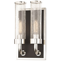 Soriano 2 Light 9 inch Polished Nickel Wall Sconce Wall Light