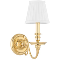 Charleston 1 Light 6 inch Aged Brass Wall Sconce Wall Light