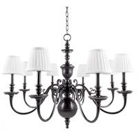Hudson Valley 1748-OB Charleston 8 Light 36 inch Old Bronze Chandelier Ceiling Light