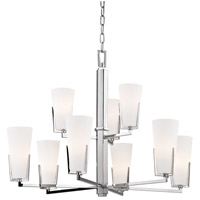 Upton 9 Light 32 inch Polished Chrome Chandelier Ceiling Light
