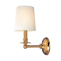 Hudson Valley Lighting Gibson 1 Light Wall Sconce in Aged Brass 181-AGB