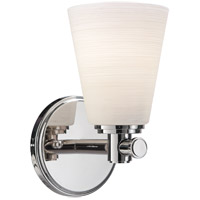 Hudson Valley Lighting Garland 1 Light Bath And Vanity in Polished Nickel 1841-PN