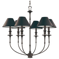 Jasper 6 Light 29 inch Old Bronze Chandelier Ceiling Light