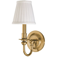 Beekman 1 Light 5 inch Aged Brass Wall Sconce Wall Light