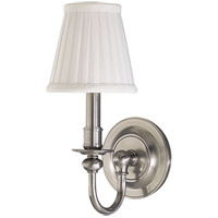 Hudson Valley Lighting Newport 1 Light Wall Sconce in Satin Nickel 1901-SN