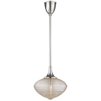 Knox 1 Light 12 inch Polished Nickel Pendant Ceiling Light