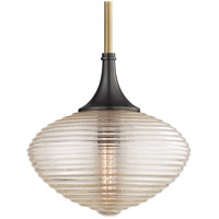 Knox 1 Light 16 inch Aged Old Bronze Pendant Ceiling Light