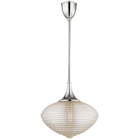 Hudson Valley Lighting Knox 1 Light Pendant in Polished Nickel 1926-PN
