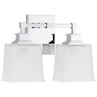 Berwick 2 Light 14 inch Polished Chrome Bath And Vanity Wall Light