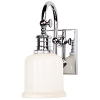 Hudson Valley 1971-PC Keswick 1 Light 5 inch Polished Chrome Bath And Vanity Wall Light