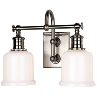 Keswick 2 Light 14 inch Satin Nickel Bath And Vanity Wall Light