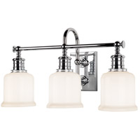 Hudson Valley Lighting Keswick 3 Light Bath And Vanity in Polished Chrome 1973-PC