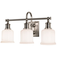 Hudson Valley 1973-SN Keswick 3 Light 21 inch Satin Nickel Bath And Vanity Wall Light