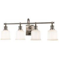 Keswick 4 Light 29 inch Satin Nickel Bath And Vanity Wall Light