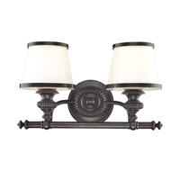 Hudson Valley Lighting Milton 2 Light Bath And Vanity in Old Bronze 2002-OB