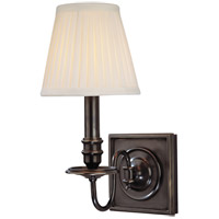 Hudson Valley Lighting Sheldrake 1 Light Wall Sconce in Old Bronze 201-OB
