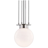 Hudson Valley 2011-PN Gunther 1 Light 11 inch Polished Nickel Pendant Ceiling Light photo thumbnail