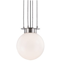 Hudson Valley 2014-PN Gunther 1 Light 14 inch Polished Nickel Pendant Ceiling Light
