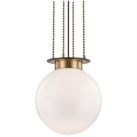 Hudson Valley 2017-AOB Gunther 1 Light 17 inch Aged Old Bronze Pendant Ceiling Light