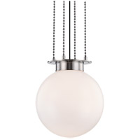 Hudson Valley 2017-PN Gunther 1 Light 17 inch Polished Nickel Pendant Ceiling Light
