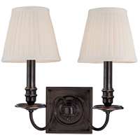 Hudson Valley Lighting Sheldrake 2 Light Wall Sconce in Old Bronze 202-OB