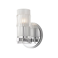 Hudson Valley Lighting Malone 1 Light Bath Vanity in Polished Chrome 2021-PC