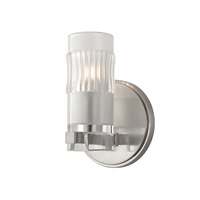 Malone 1 Light 5 inch Satin Nickel Bath Vanity Wall Light