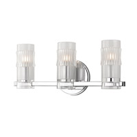 Hudson Valley Lighting Malone 3 Light Bath Vanity in Polished Chrome 2023-PC