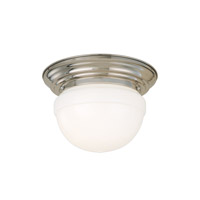 Hudson Valley Lighting Palisades 2 Light Flush Mount in Polished Nickel 203-PN