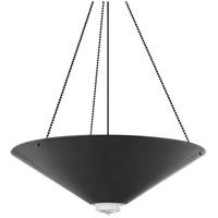 Hudson Valley 2038-OB Heron 6 Light 38 inch Old Bronze Pendant Ceiling Light
