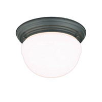 Hudson Valley Lighting Palisades 3 Light Flush Mount in Old Bronze 205-OB