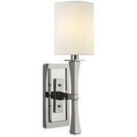 York 1 Light 5 inch Polished Nickel Wall Sconce Wall Light